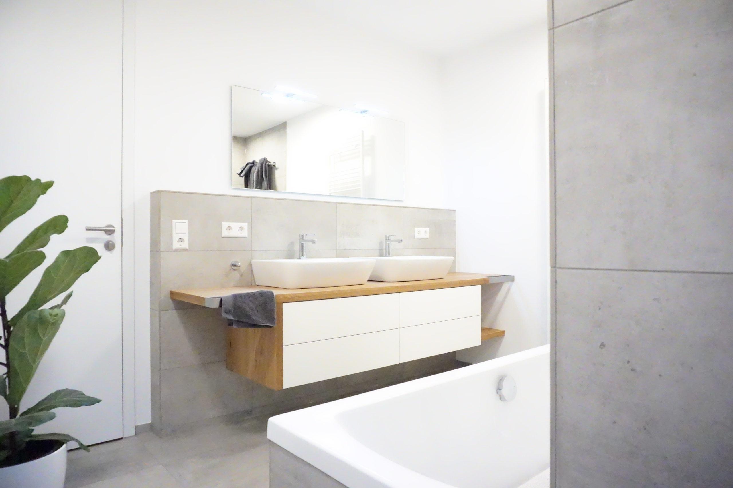 Badezimmermöbel Wildeiche Bodensee